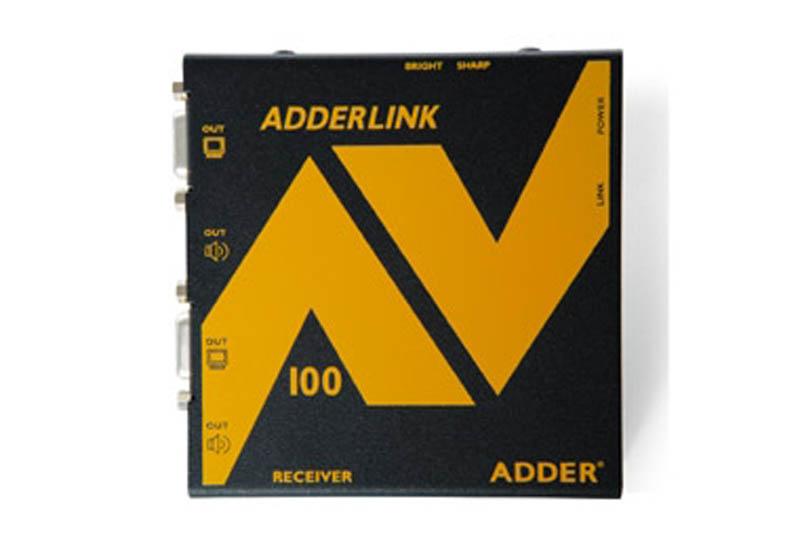 ADDERLink Digital Signage ALAV100R Receiver  (One set left)