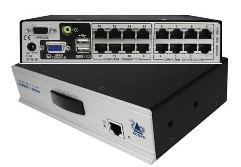 Adder AVX 16 Port IP Catx KVM Switch