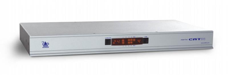 ADDERView Catx KVM Switch - 3 Local, 1 Digital VNC KVM/IP to 24 Computers