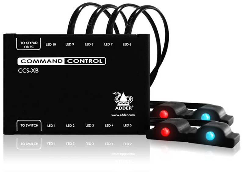 Adder LED Lights for CCS-Pro4-USB (includes 4 LED Modules)