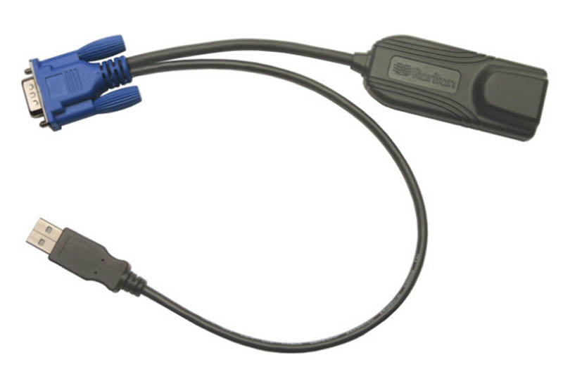 Local port cable for video access for Raritan DKX2-101-V2