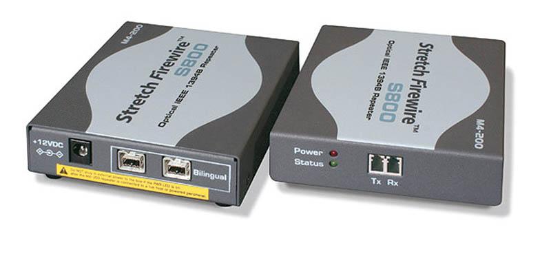Guntermann and Drunck FireWire-800 Transceiver-Set