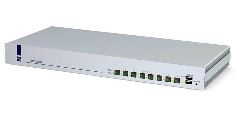 Guntermann and Drunck DVIMUX8-OSD-MC2-USB  (8 computers dual video via 1 user)