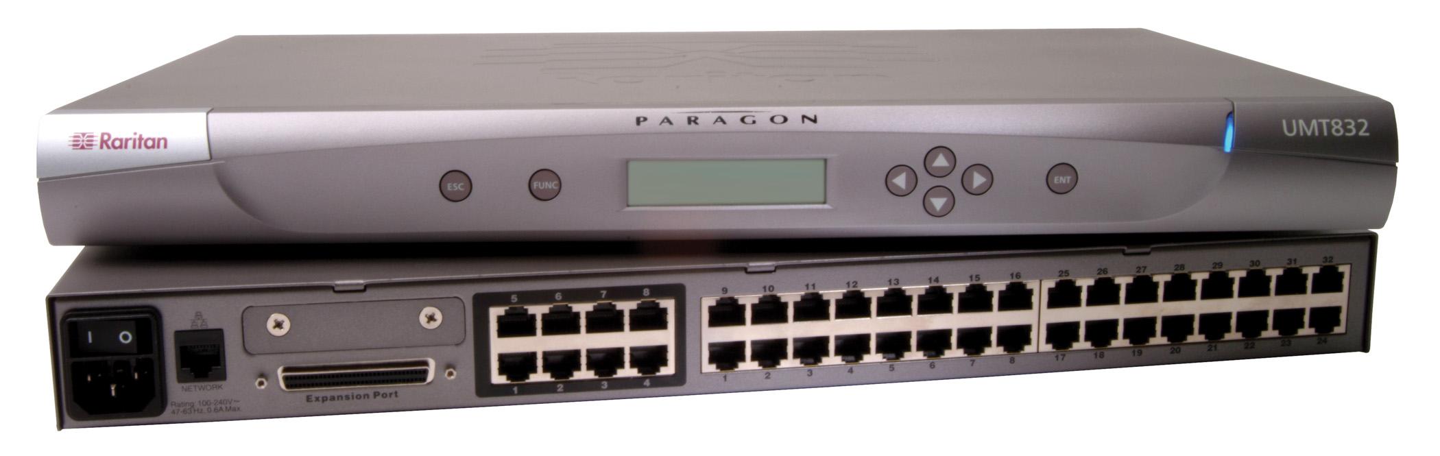 Raritan Paragon II P2-UMT832 8 User 32 Port KVM Switch