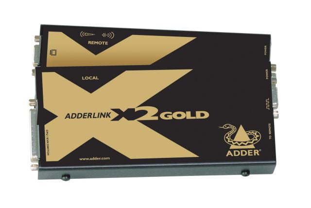 ADDERLink X2 KVM & Digital Audio & RS232 Extender  EOL