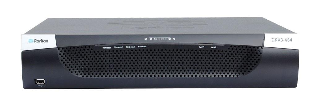 Raritan 64-Port 4-User Dominion KX III KVM-Over-Ip Switch