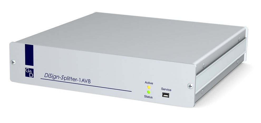 GDSys DiSign 8 Way VGA Splitter