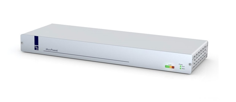 GDSys MultiPower 6 Port Central Power source - provides up to 6 output interfaces (12V)