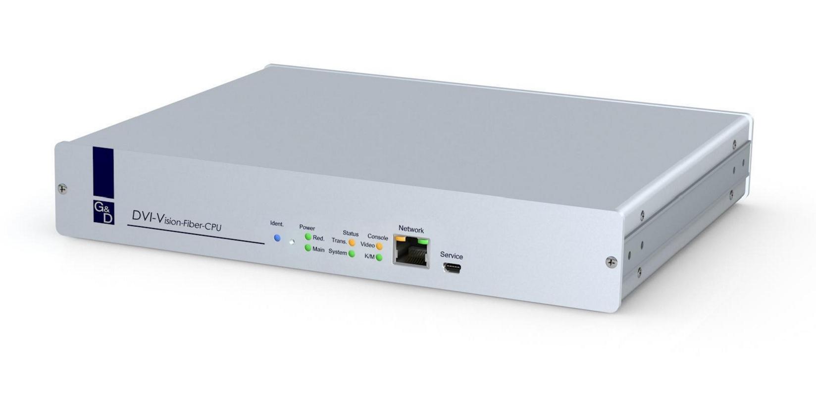 GnD Fibre Extender Console Unit DVI-Vision-F(M)-ARU2-CPU