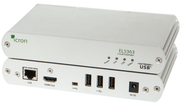 EL5363 KVM Extender HDMI + USB 2.0 over 100m CAT 5e/6/7