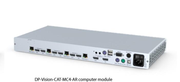 GDSys DP-Vision-CAT-MC4-ARU-CPU extender  4 Channel