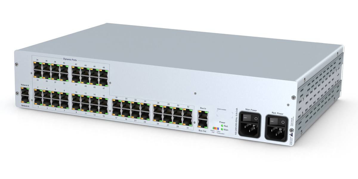 GDSys ControlCenter-Compact-48C - Compact matrix switch with 48 dynamic ports over CatX