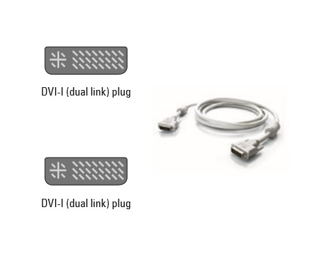 GnD Video Cable DVI-I-DL-M/M 1.8m