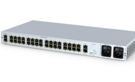 GDSys ControlCenter-Compact-16F(M) - compact matrix switch with 16 dynamic ports over Multi-Mode Fiber to 500 meters