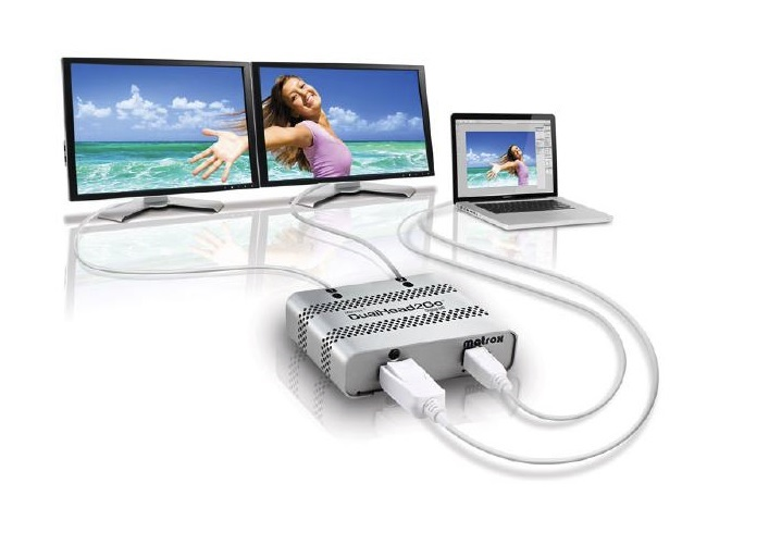 Matrox DualHead2Go Digital Mac Edition (ME) External Multi-Display Adapter