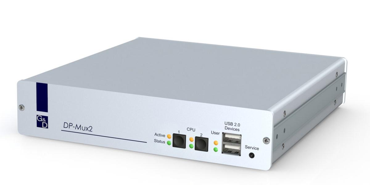 GDSys Display Port 2 DualHead KVM Switch For Over DisplayPortTM 11
