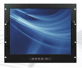 OEM Wall mount 19 1600x1200 UXGA Monitor with USB Touchscreen (24VDC)