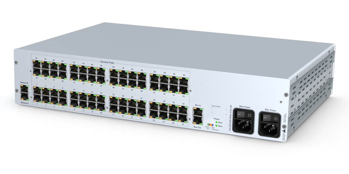 GDSys ControlCenter-Compact-64C - Compact matrix switch with 64 dynamic ports over CatX