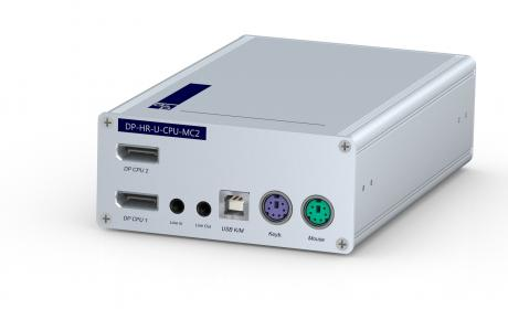 GDSys Computer Interface Module DP-U-CPU (integrated USB) - PS/2, USB & audio cables, up to 140 meters