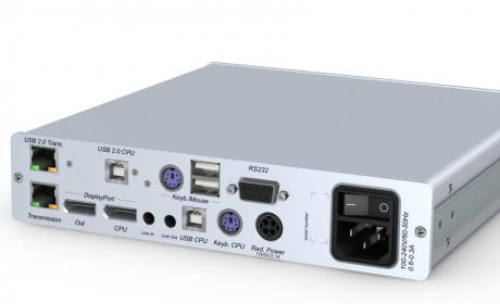 GDSys DP1.2-Vision-CAT-MC2-ARU2-CPU Receiver 2 x DP1.2 PS/2-USB Audio RS232 USB 2.0 High Speed Desktop