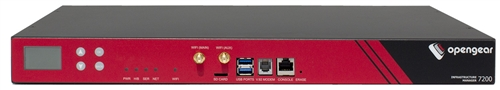 Opengear 8 Port Infrastructure Manager Dual DC Serial Console Server