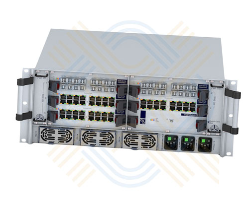 G&D ControlCenter-Digital a modular KVM Matrix Switch, 80 ports for any number of user and computer modules. Supports DVI SL, Display Port & VGA, USB/PS/2 Keyboard/Mouse, Audio, RS232, USB 2.0