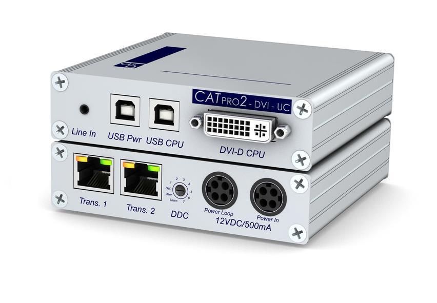 Guntermann and Drunck CATpro2-DVI-Audio-UC-USB