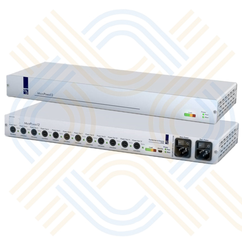 GDSys MultiPower - 12 Port Central Power source -  provides up to 12 output interfaces (12V)