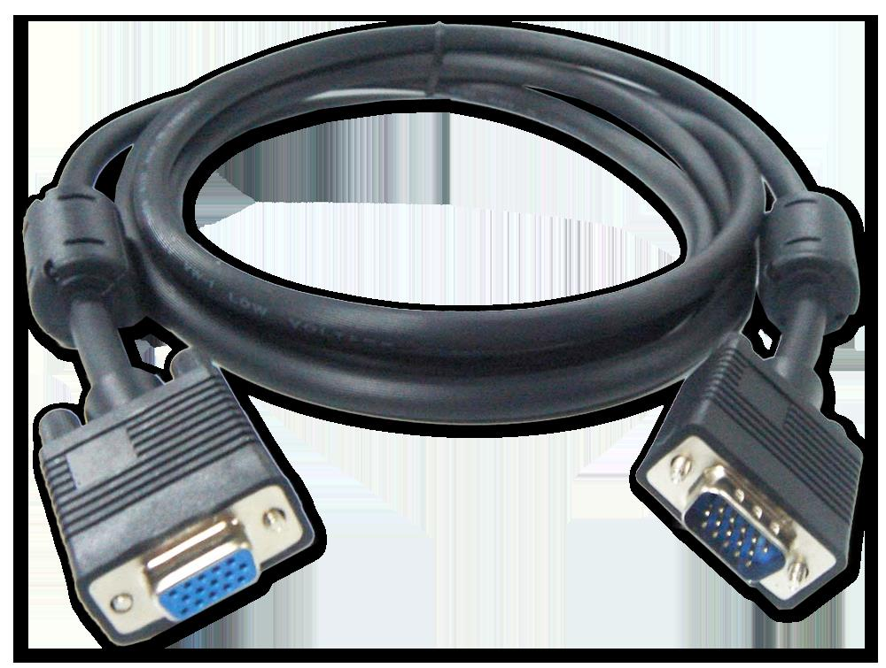VGA Extension HD15 M/F Cable 15M,