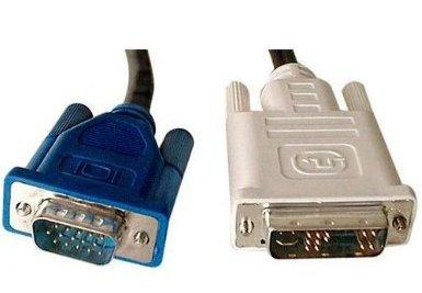 DVI-i/VGA adapter cable Male - Male 2 Mtr