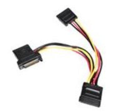 Adder Iss.1 Serial Y splitter cable 100mm +/- 5mm (For AV200 units)