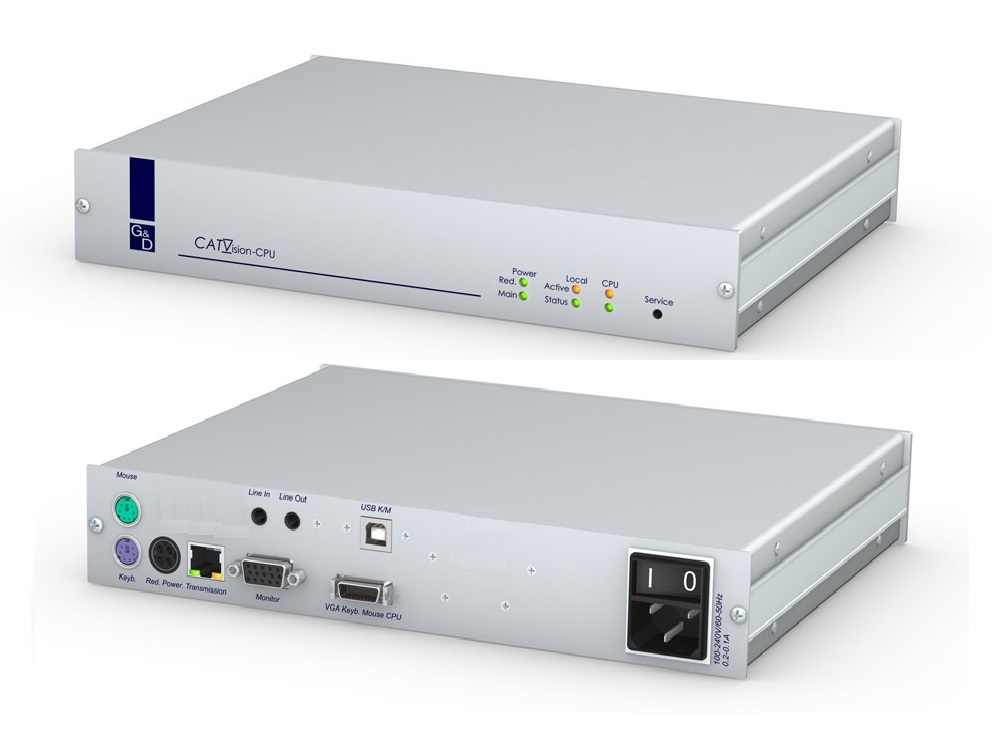 Guntermann and Drunck CATVision-D-CPU-RM