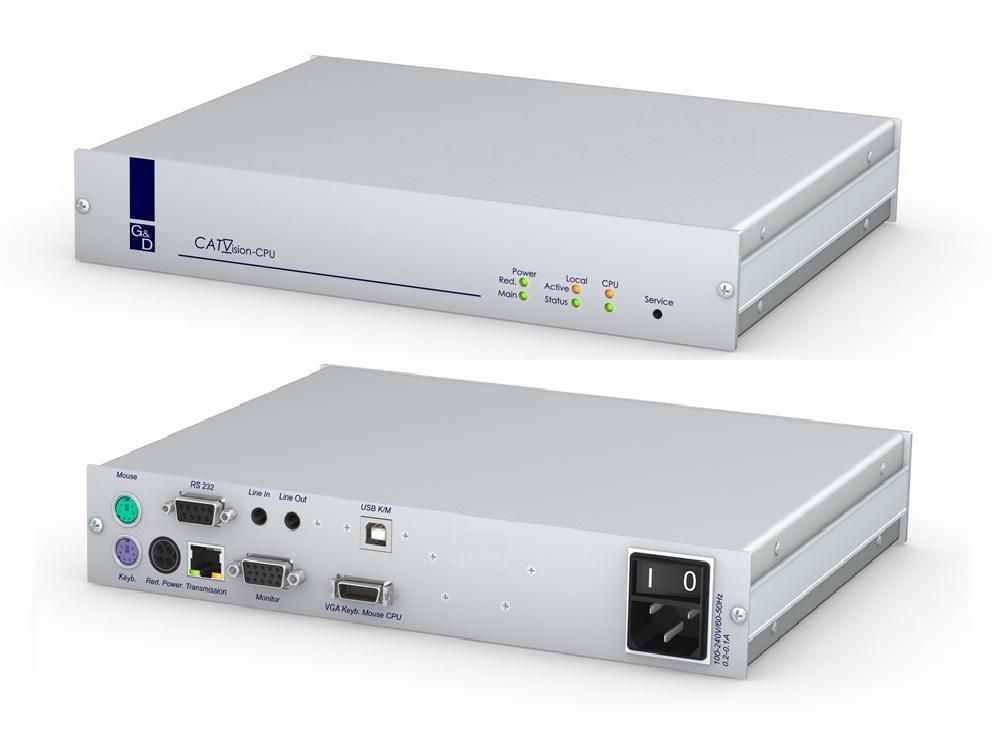 Guntermann and Drunck CATVision-R-CPU-RM