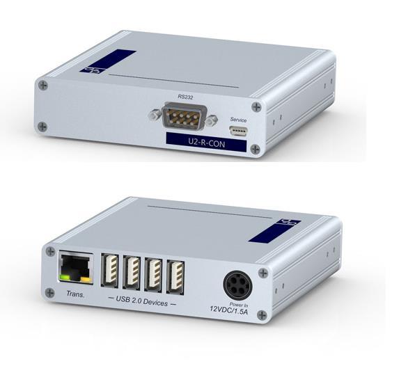 G&D U2-R-CON User Module - USB 2.0 transparent, RS232, for 1 cluster, Desktop