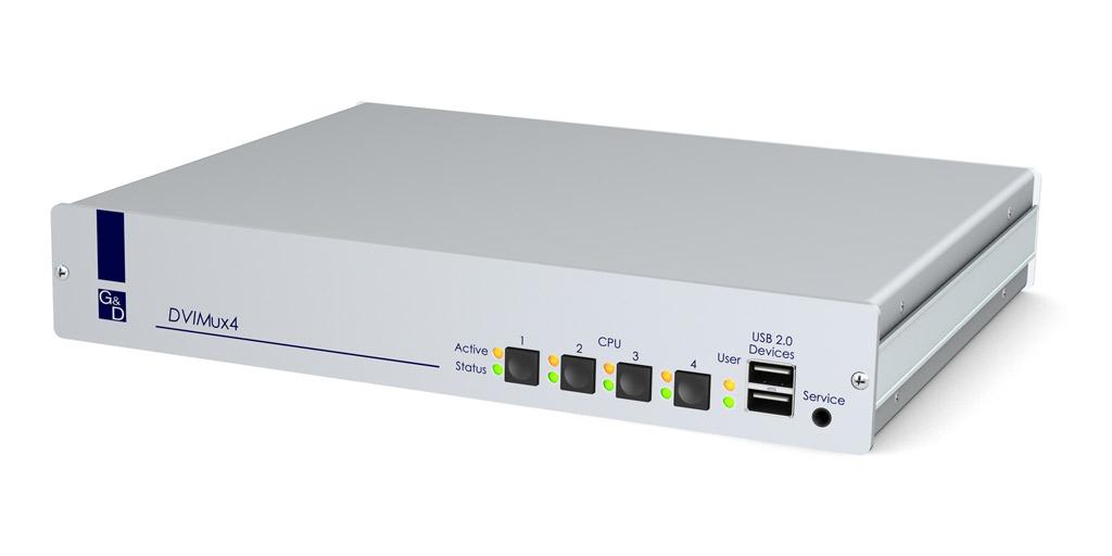 G&D DVIMUX4-PS/2-RM