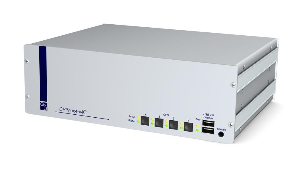 Guntermann and Drunck DVIMUX4-MC2-USB-RM