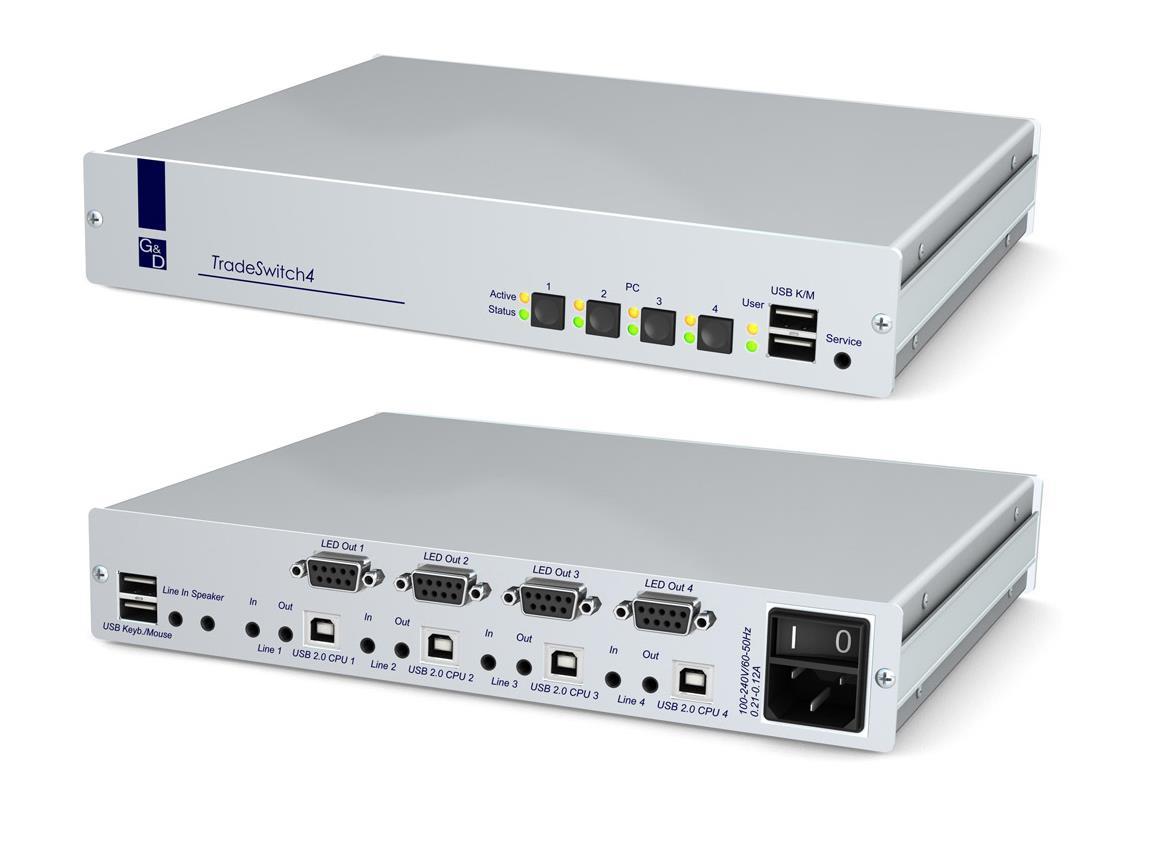 Guntermann and Drunck TradeSwitch4-USB