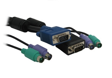KVM VGA/PS2 Male to Male 5mt Combo Cable