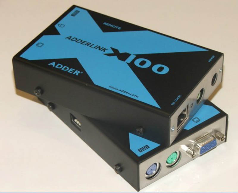 Adder Catx Local User Port - Video,PS/2 Kb & Ms plus Audio (out) Receiver with Skew Compensation