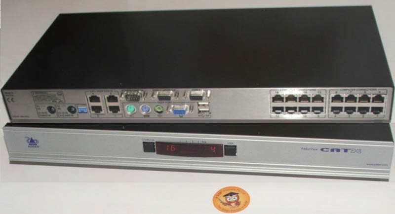 ADDERView Catx KVM Switch - 4 Local, 16 Computers