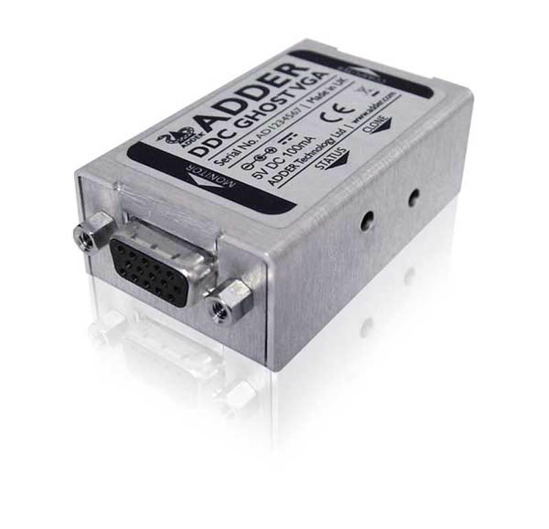 Adder Ghost DDC Emulator for VGA signals