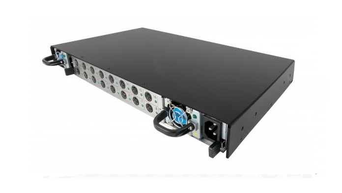 Adder 8 Port Power Supply System (pre-fited with one removable power supply) Rack mountable