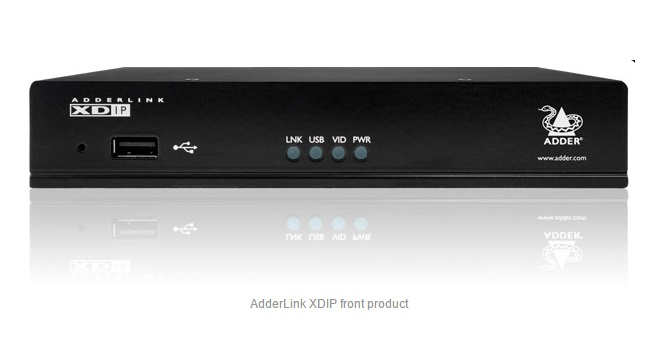 Adder XDIP HDMI/USB ultra low latency, Digital KVM extender or Matrix. including external PSU