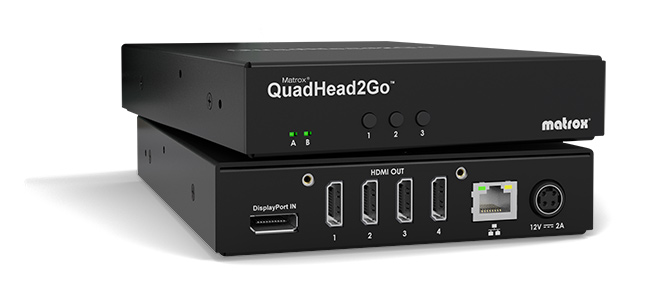 Matrox QuadHead2Go 4K Video Wall Appliance