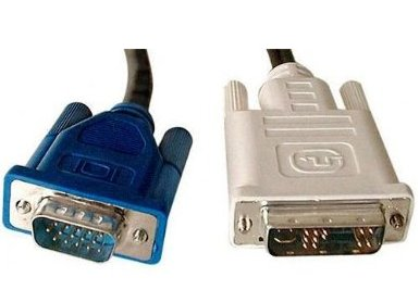 DVI-A M to HD15M VGA Analogue Cable 2mt