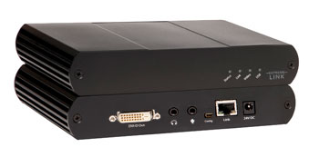 Icron Smart EL3500 KVM Extender DVI + USB 2.0 over 500m Cat5 - EOL