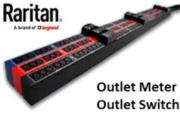 Raritan Monitored/Switched rack Black PDU, 7.7kVa, 240V, 32A - Clipsal with 24@C13 ZeroU Outlets