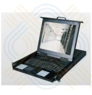 "KVM Console 17.3"" HD display DVI/VGA Drawer"